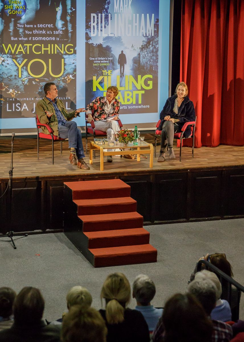 Crime Time with Lisa Jewell, Mark Billingham and Minette Walters