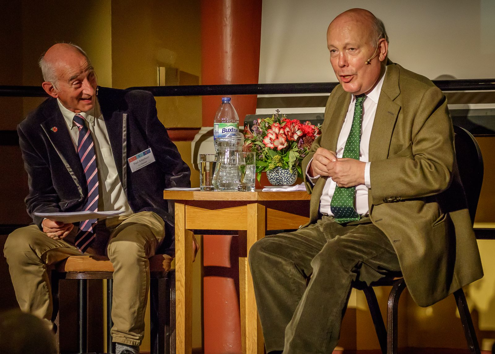 Julian Fellowes picks his Desert Island Books with Paul Atterbury