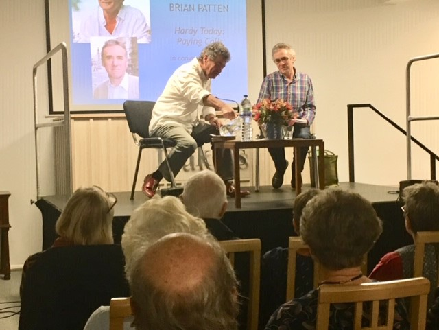 Brian Patten in conversation with Tony Fincham